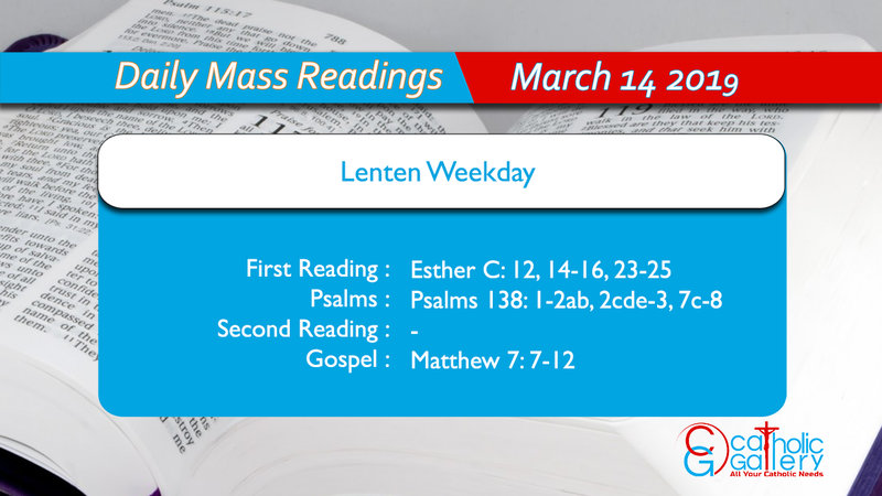 daily mass readings 2018 pdf