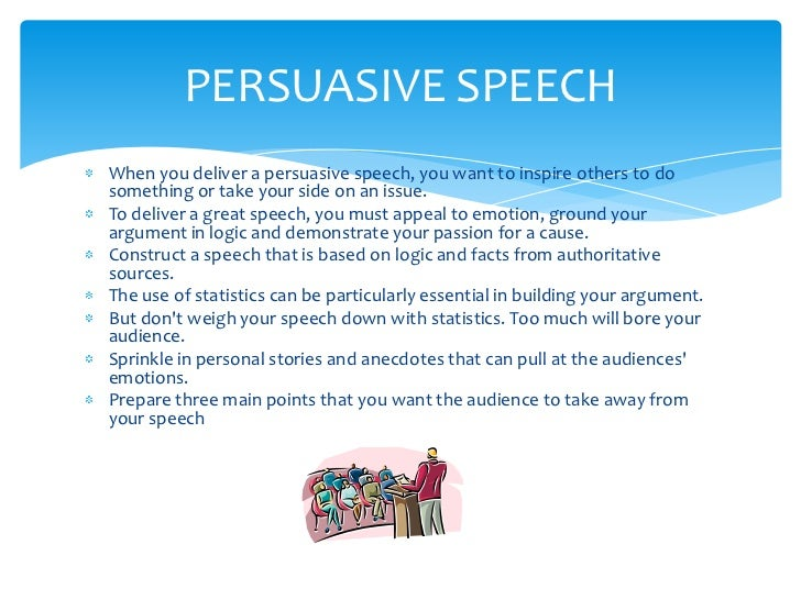 different types of speech pdf