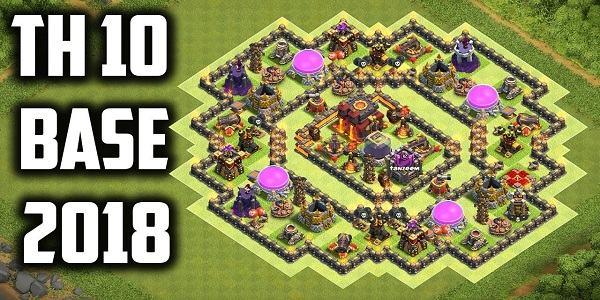 coc engineered base guide 2018