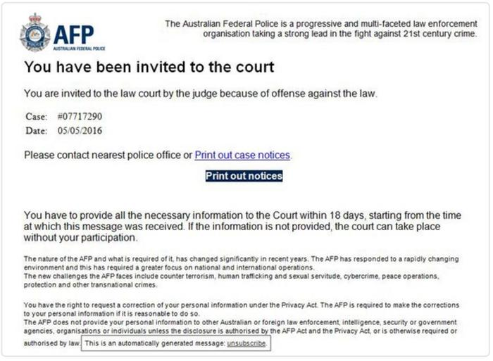 australian federal police check for immigration online application