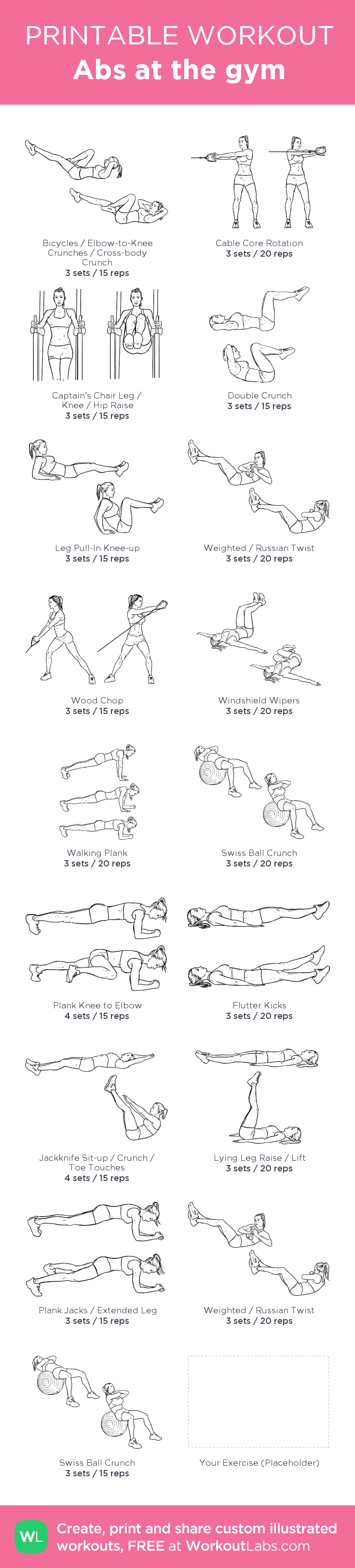 abs workout pdf