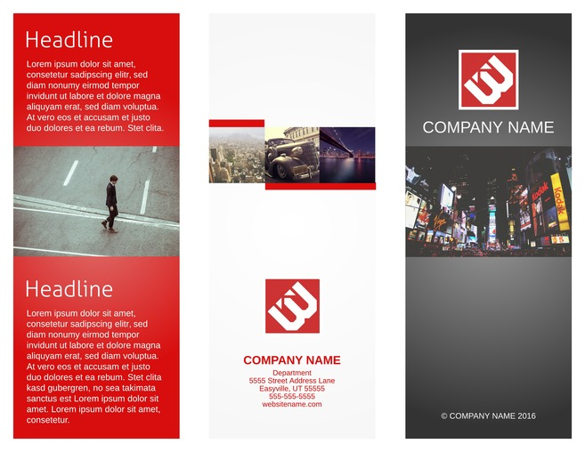 company brochure sample