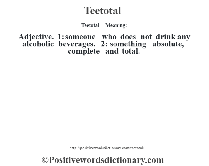alcoholic dictionary definition