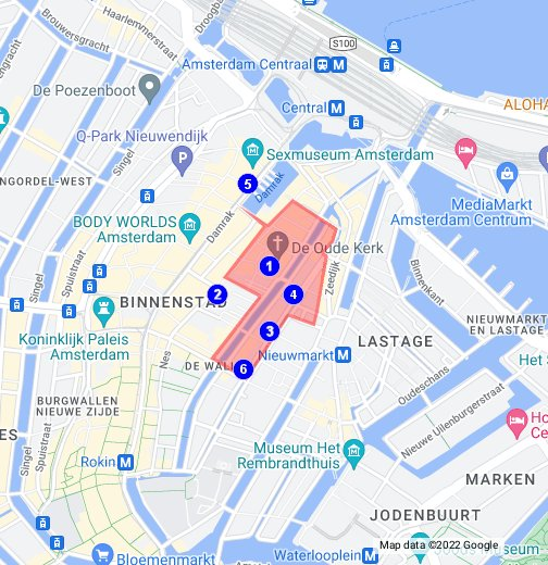 amsterdam red light district map pdf