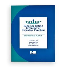 behavior rating inventory of executive function sample report