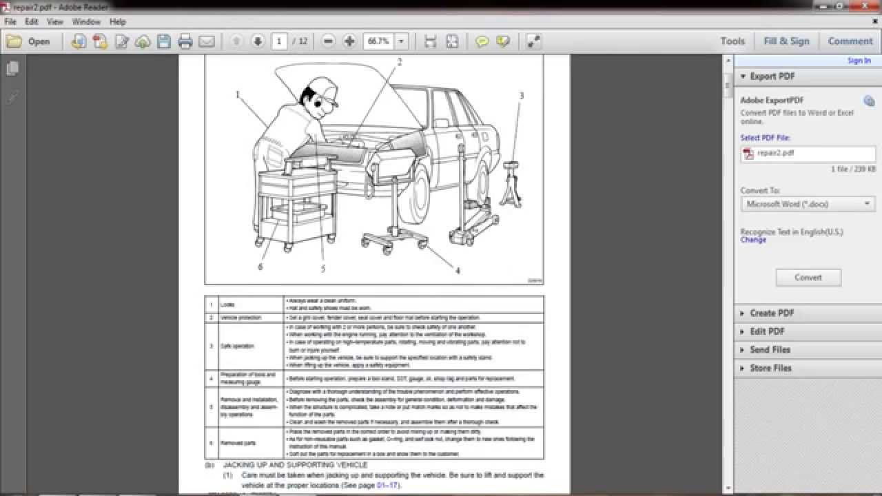 1995 toyota corolla repair manual pdf