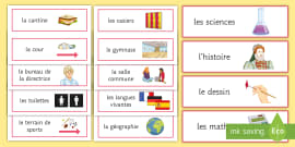 classroom instructions in french powerpoint